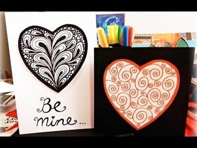 Tarjeta de  Dia San Valentín - Tarjeta de San Valentín para la gente que amas