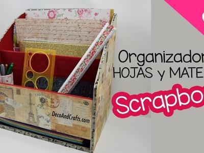 Organizador de hojas y material Scrapbook - DecoAndCrafts