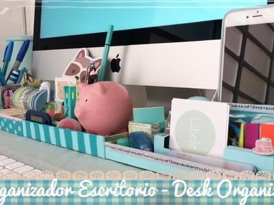 Organizador para Escritorio Reciclado- DIY Recycled Desk Organizer