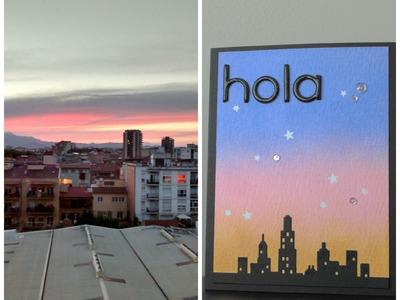 "Tarjeta ""city sky"""