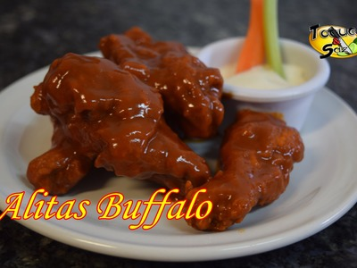 """Alitas Búfalo - Buffalo wings """"paso a paso"""" (TOQUE Y SAZÓN)"""