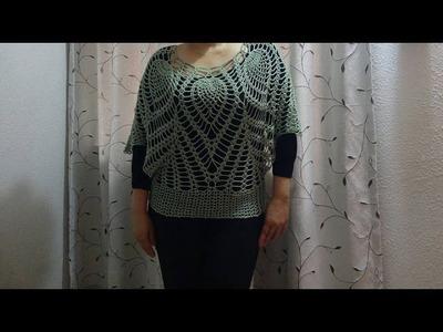 Blusa moderna de 6 piñas parte 1
