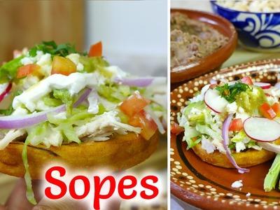 ¡Unos Deliciosos Sopes! - Collab con La Cooquette - Mi Cocina Rápida