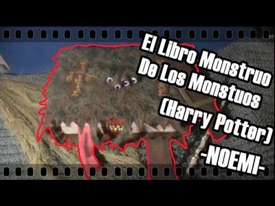Mini Libro Monstruo de los Monstruos. Harry Potter | Noemi ϟ