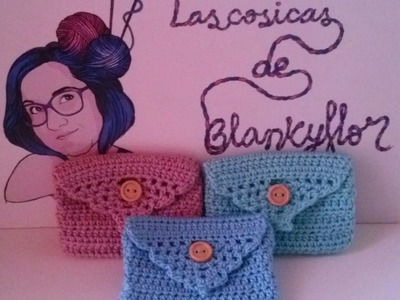 MONEDERO A GANCHILO | CROCHET COIN PURSE (Especial día de la madre)