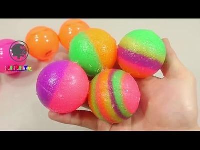 Cómo Hacer mármoles multicolores del gigante - video experimentos para ninos Espanol  - Diy