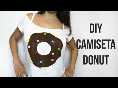 DIY Camiseta Donut | Personaliza una camiseta básica