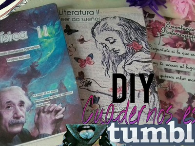 DIY: Decora tus cuadernos estilo tumblr | Video rápido