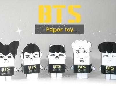 DIY K-POP : BTS Paper Toy