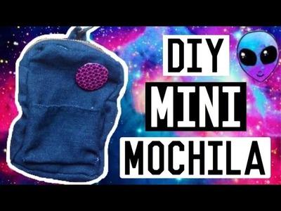 DIY: MINI MOCHILA | Llavero