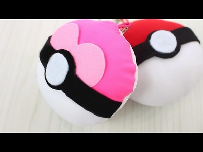 ★ DIY POKE BALLS ★  HOW TO MAKE POKEBALL KEY CHAINS ★ POKEMON GO ★