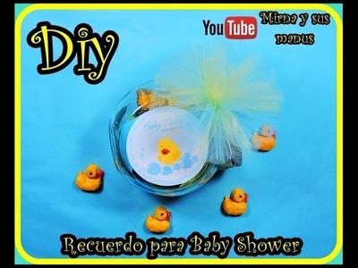 Diy  Recuerdito o Souvenirs para Bautizo Mirna y sus manus. Baby Shower Souvenirs Diy