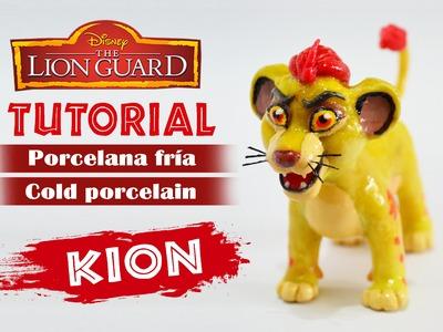 DIY - The guard lion tutorial - Kion polymer clay - porcelana fría - plastilina