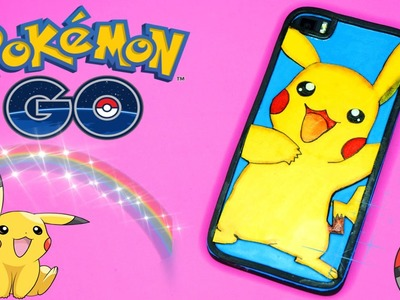 Funda Pikachu DIY - Pokemon GO - Funda para móvil o celular