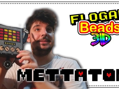 METTATON (UNDERTALE) - HAMA BEADS 3D #1 - DIY - FLOGAR BEADS TUTORIALES