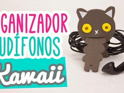 Organizador de Audífonos muy Kawaii | DIY Manualidades para organizar | MiniTip #93 Catwalk