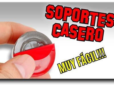 SOPORTE PARA CELULAR CASERO FÁCIL ▲ 4 MODELOS ÚNICOS DIY ▲ | Pablo Inventos