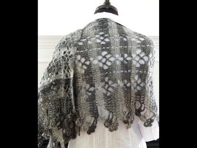 Crochet: Chal Rectangular # 3