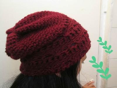 Gorro. Boina Para HOMBRE O MUJER a Crochet