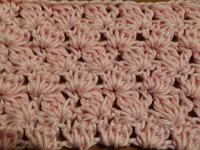 Puntada a crochet, fácil, rápida y divertida. Muestra No. 48