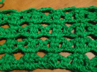 Puntada a crochet facilìsima y linda, muy sencilla y divertida