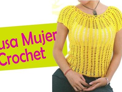 Blusa Para Mujer tejidas a crochet