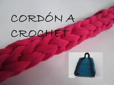 Cordón a Crochet. Ganchillo TRAPILLO - Paso a paso