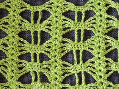 Crochet: Punto Calado # 25