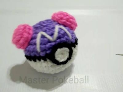Máster Pokeball  amigurumi crochet