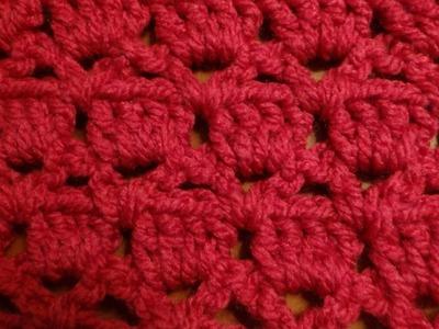 Puntada a crochet muy fácil. Muestra No. 60