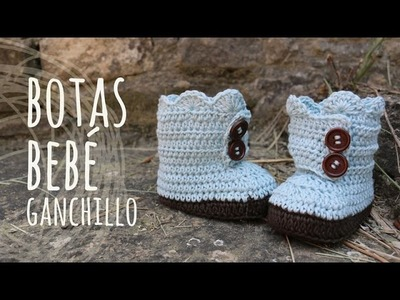 Tutorial Botas Bebé Ganchillo | Crochet