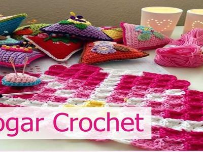 Decoracion para el Hogar tejida en crochet