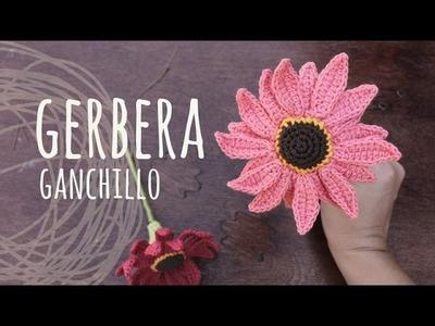 Tutorial Flor Gerbera Ganchillo   Crochet