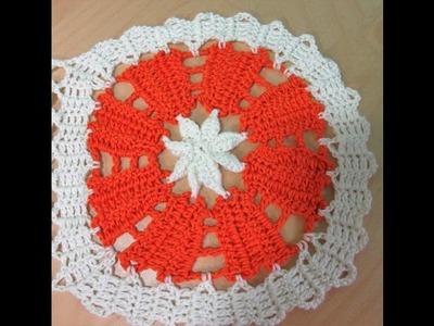 Crochet cuadrado en encaje de bruja para blusa de verano Dalia - con Ruby Stedman