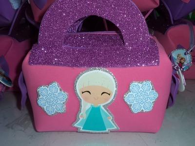 Como hacer Cartera fomi Elsa - DIY