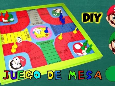 """DIY JUEGO DE MESA DE """"MARIO BROS"""" EN FOAMY"""