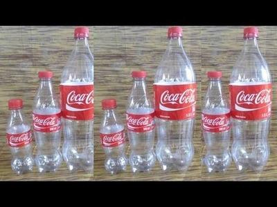 5 Trucos con Botellas de Plástico o Life Hacks - DIY