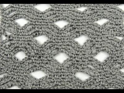 Crochet: Punto Diamantes # 2