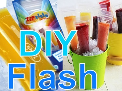 DIY bolsas para polos flash, coquitos o poloflan