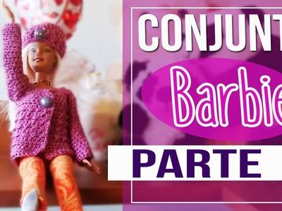 Gorro en Crochet para Barbie - Conjunto para Barbie parte 2