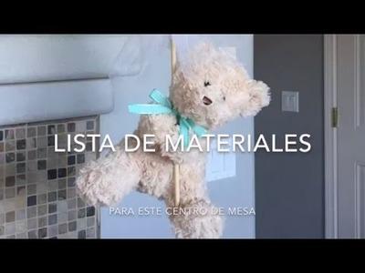Lista de materiales para esté centro de mesa
