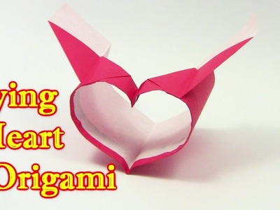BEST COOL Origami Heart Flying Paper Plane Airplane  by 牙精 - Yakomoga Origami tutorial