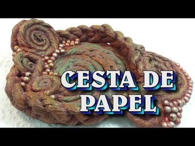 Cesta De Papel - PAPER BASKET