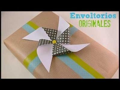 Cómo hacer molinillo de viento. Paper windmill