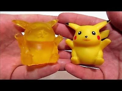 DIY Pikachu de Gominola Gelatina Jelly Gummy Pikachu Pokemon Go