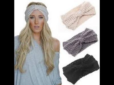 How to make a turban headband - DIY - Como hacer una bandana o turbante
