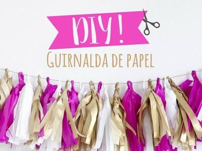 DIY Westwing | Cómo hacer guirnaldas de papel de seda para tus fiestas