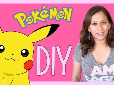 POKEMON DIY. Manualidad Bolsa de Pikachu
