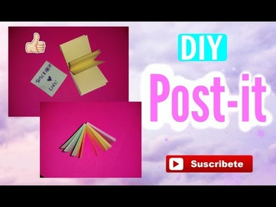 DIY♥. Como hacer post-it♥ Back to school (Regreso a clases)-ValeChic♥