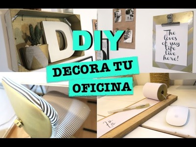 DIY | DECORAR TU OFICINA | SILLA RENOVADA | OFFICE DECOR ♡ STEFFIDO